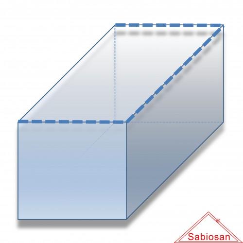 Sacco fodera sabiosan feretri pvc µm 200