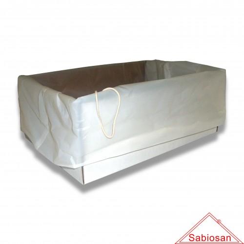 Sacchetto protettivo sabiosan std cm 70 x 70 cofanetto cellulosa biodegradabile mater-bi
