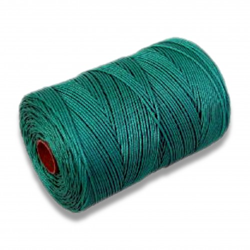 Corda polietilene ritorta 72/5 verde/nera