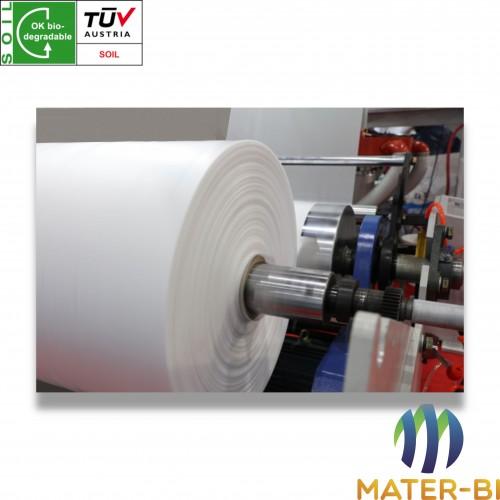 Polimero mater-bi estruso neutro biodegradabile (sigla 80/20)