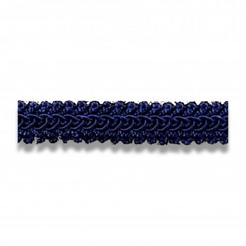 Passamaneria: agremano cm 1,5 blu 38