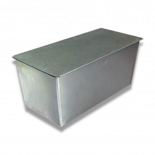 Ossario lamiera zincata svasato fm cm 50 x 26 x 24 h