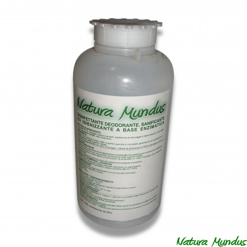 Disinfettante liquido natura mundus lt 1 (sanificante e igenizzante a base enzimatica)