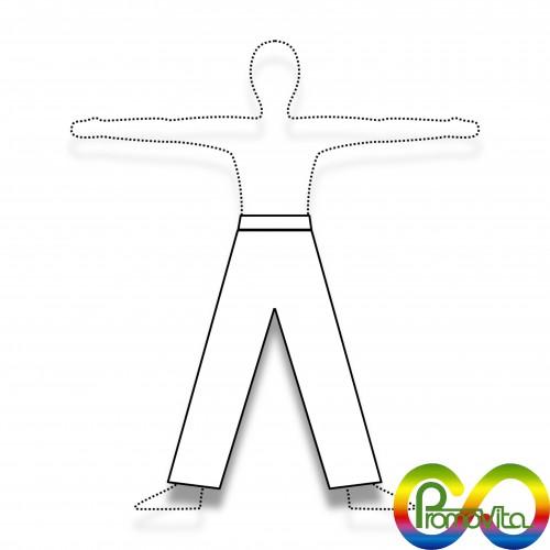 DPI 1 pantalone promovita biodegradabile mater-bi xs/s/m/l/xl/xxl/xxxl DPI 1^ categoria