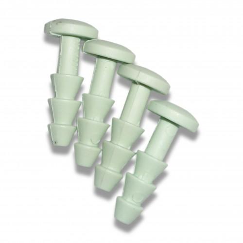 Cofano cellulosa: spinotto montaggio biodegradabile mater-bi