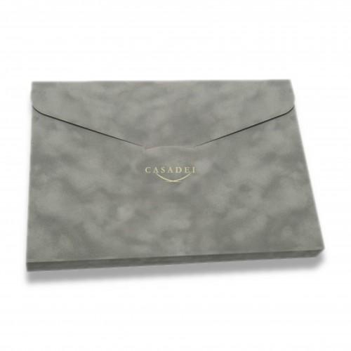 Libro firma: ts cofanetto raffinato bordeaux/grigio/blu/avorio/nero