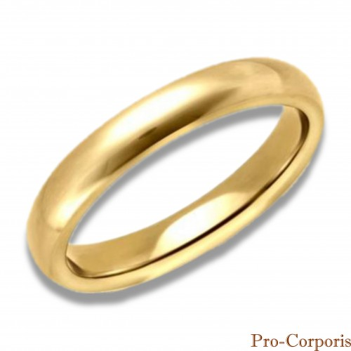 Tanato: makeup anello fede oro Ø mm 20 o Ø mm 17