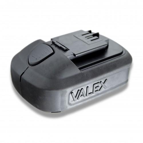 Avvitatore valex litio li-tech 18: batteria v 18
