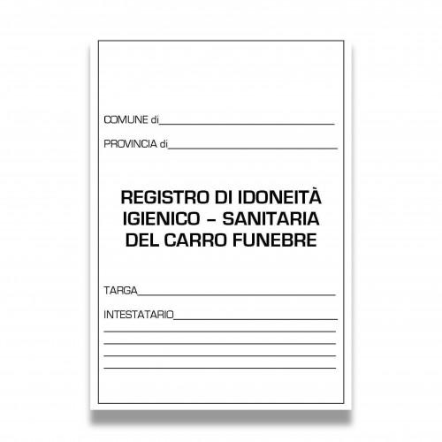 Stampa registro sanitario auto funebre