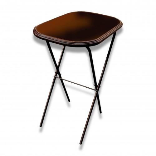 Tavolo firma rovere ovale cm 73 x 50 x 86 h kg 11 pieghevole