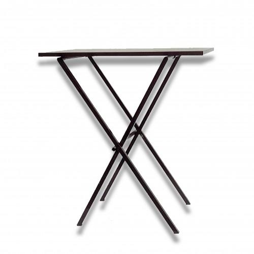 Tavolo firma ferro rettangolare cm 73 x 50 x 86 h kg 9 pieghevole