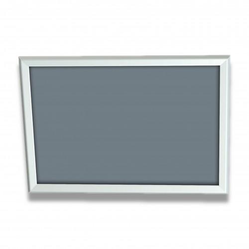 Porta annuncio cornice a scatto: alluminio silver luce cm 42 x 59,4 A2