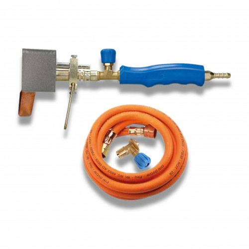 Saldatura a caldo: impugnatura kl 147 con valvola e tubo