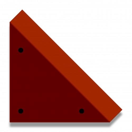 Piede cofano bio legno cm 2,5 biodegradabile