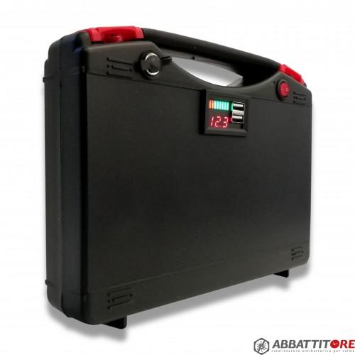 Abbattitore catalizzatore: pacco batteria litio 12V 35A