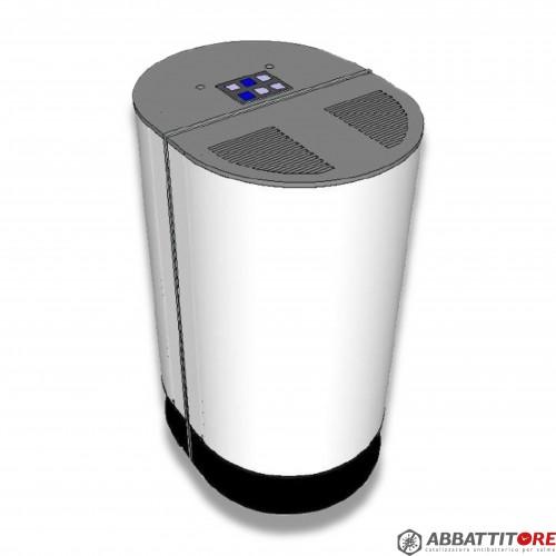 Abbattitore catalizzatore: impianto antibatterico per ambienti - matricola n.