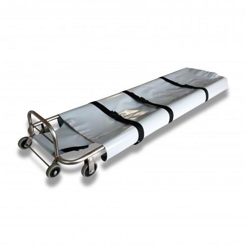Barella emergenza pieghevole: kit fasciatura con velcro (aggiungere)