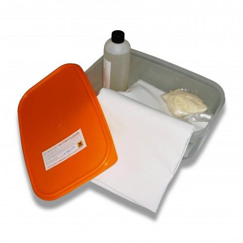 Disinfettante: kit omologato infettivi con lenzuolo cotone