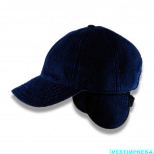 Vestimpresa: berretto pile blu con para orecchie