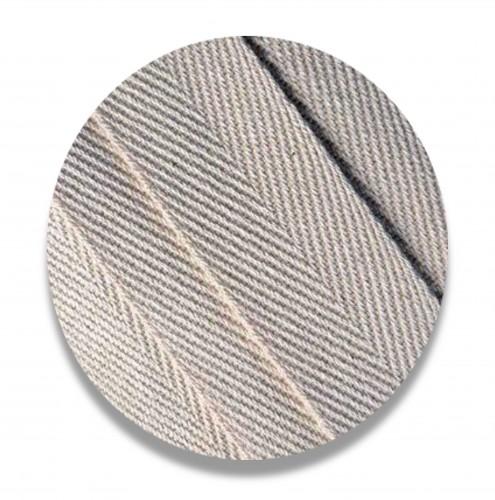 Nastro spigato cotone ecrù mm 30 biodegradabile