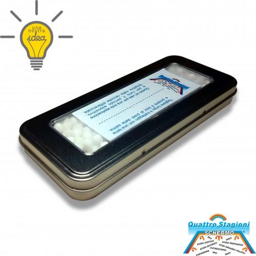 Dispositivo schermo agli odorigeni: carica abbattimento odorine