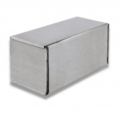 Ossario lamiera zincata diritto cm 50 x 24,5 x 23 h
