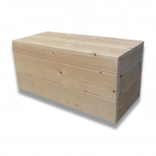 Cassa legno grezza tipo G montata cm 70 x 35 x 26 x 2 misura interna