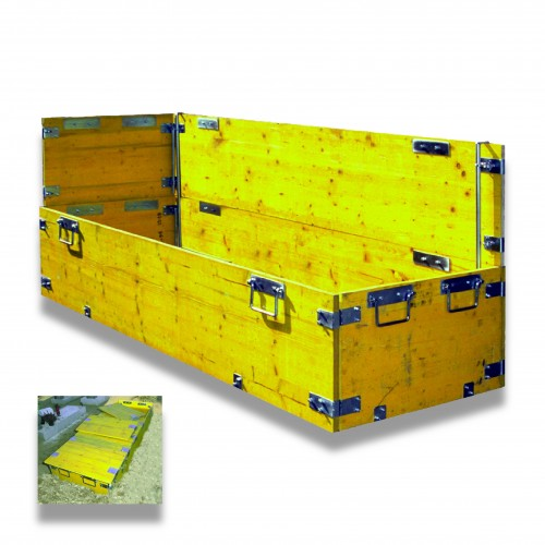 Modulo antifrana: copertura alluminio cm 90 x 50