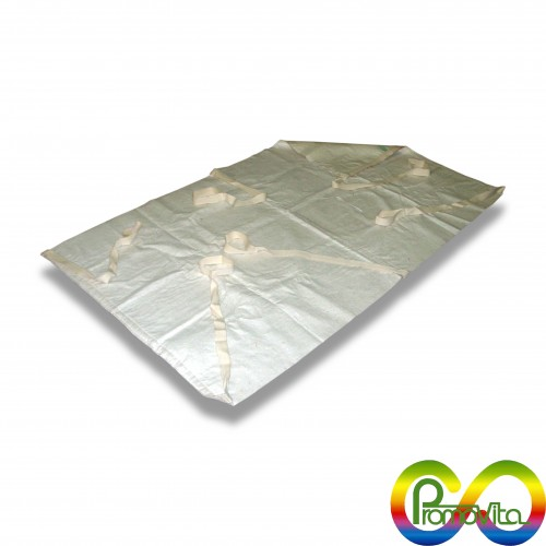 Telo antivirale promovita 350 cm 140 x 180 con maniglie biodegradabile mater-bi