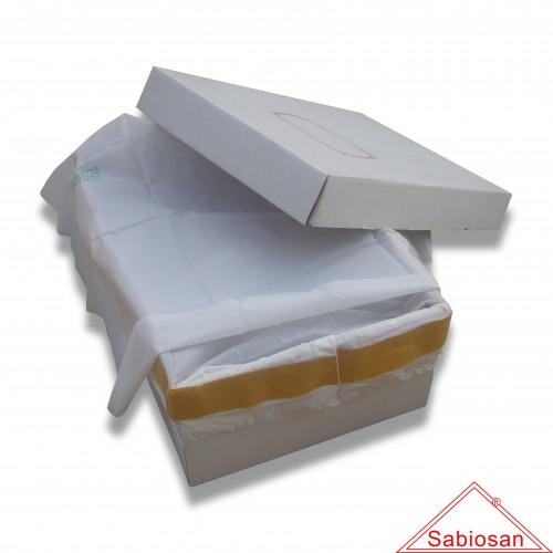 Sacchetto protettivo sabiosan plus cm 50 x 70 cofanetto cellulosa biodegradabile mater-bi