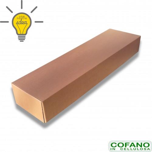 Cofano cellulosa velox avana portata kg 80 cm 52 x 25 x 185 biodegradabile