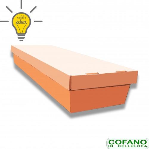 Cofano cellulosa std avana portata kg 80 cm 61 x 26 x 185 biodegradabile