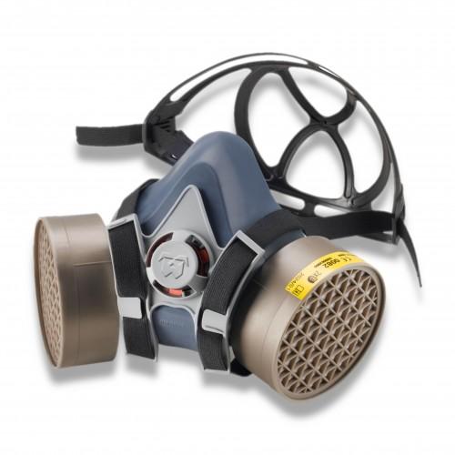 DPI maschera gomma con 2 filtri (non inclusi)