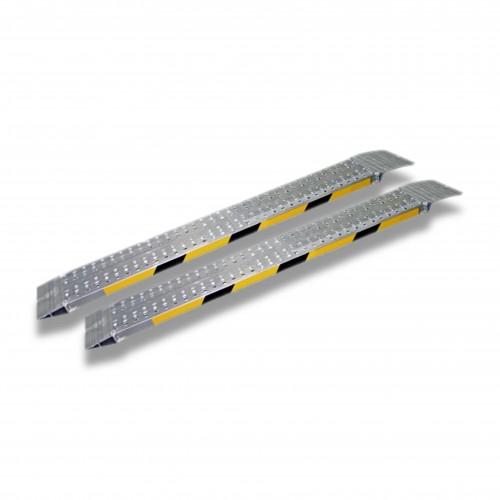Carrello: rampe fisse alluminio mt 3