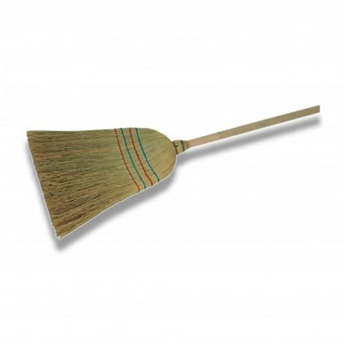 Porta annaffiatoio/scopa: scopa saggina leggera biodegradabile