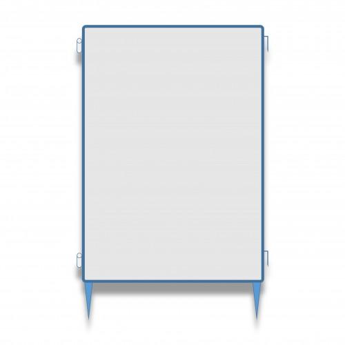 Pannello recinto esumazione cm 100 x 180 + 20 h