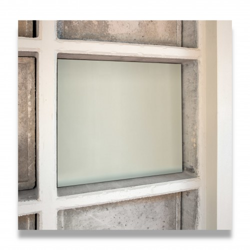 Dispositivo suggello loculo: pannello vetroresina cm 72 x 77,5 x 2,7