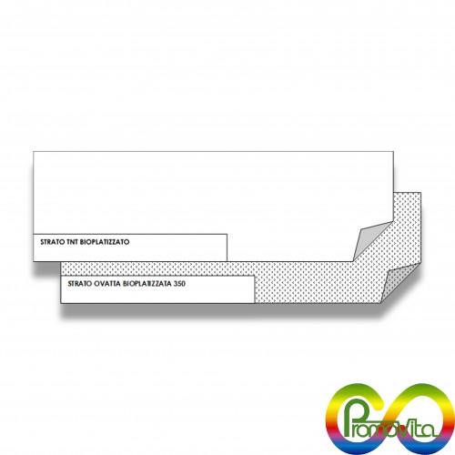 Quadrato sanitario barriera cm 100 x 100 biodegradabile mater-bi