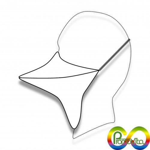 DPI maschera ffp1 becco promovita biodegradabile mater-bi