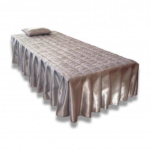 Imbottitura: catafalco salvaletto 2 piazze con strato impermeabile bianca/champagne/grigio perla