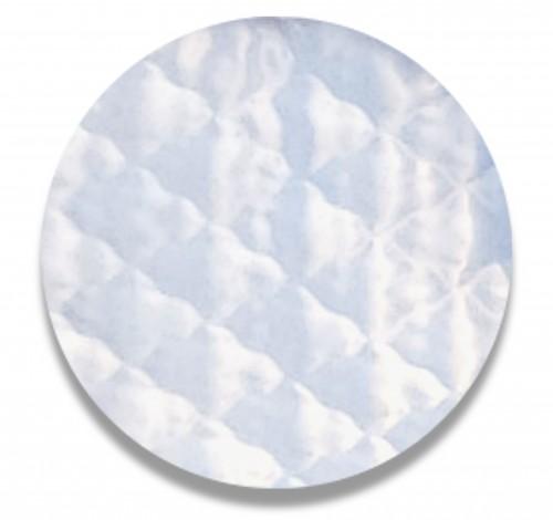 Imbottitura rosa: copertina trapuntata conica cm 65 x 45 x 150 bianca/avorio/grigio perla