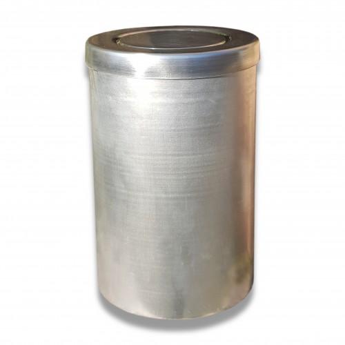 Ceneri urna alluminio decapata Ø cm 14 x 22 h