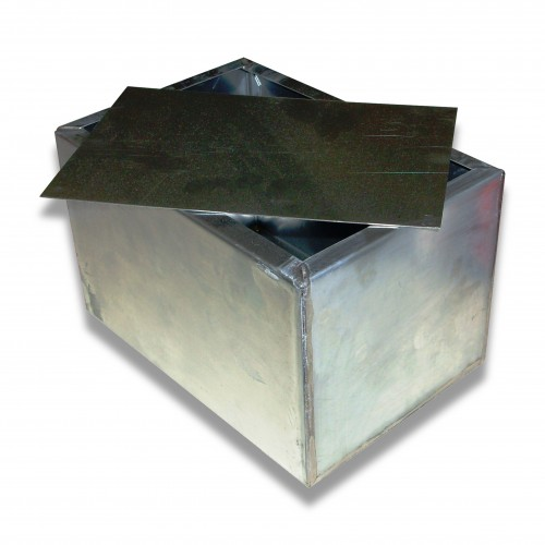 Ceneri zinco tipo c3 cm 22,5 x 15,5 x 14 h