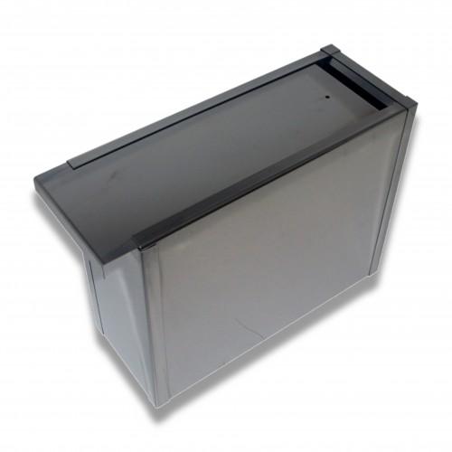 Ceneri urna inox cm 10 x 19 x 24 h stretta