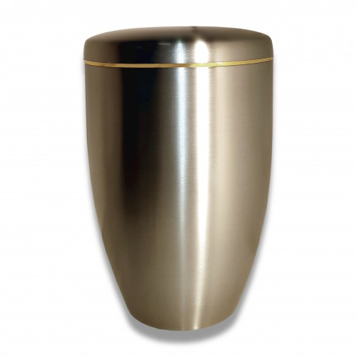 Ceneri urna inox h filoro satinata Ø cm 18 x 27 h