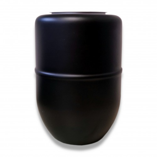 Ceneri urna acciaio g nera Ø cm 16 x 23 h (solo con cod. 1971)