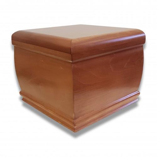 Ceneri urna legno sagoma 026 tiglio noce medio satinato
