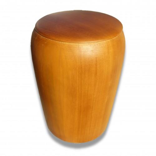 Ceneri urna legno anfora 3 paulonia miele satinato