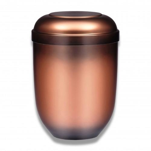 Ceneri urna mater-bi ramata Ø cm 19 x 25 h biodegradabile