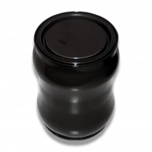 Ceneri urna acciaio s brunita Ø cm 9,9 x 12 h